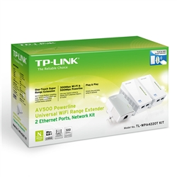 TP-LINK KIT POWERLINE TP-LINK 500M - TL-WPA4220TKIT - 1300176