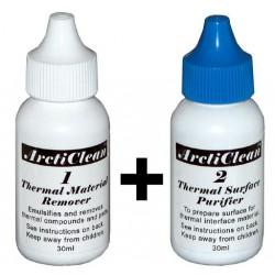 Arctic Silver - ArctiClean 1 & 2 Kit de 60ml