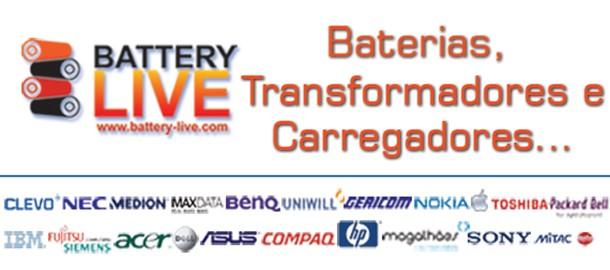 Battery-Live - Loja de Baterias e carregadores