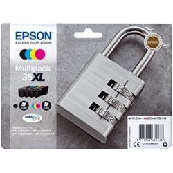 EPSON Multipack 4-colours 35XL DURABriteUltra C13T35964010 - 1701644