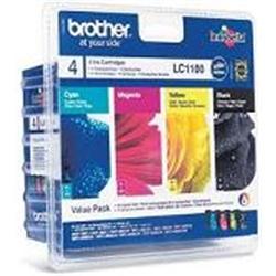 Brother Pack Económico preto/Cian/magenta e amarelo - 1701791