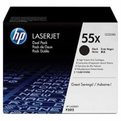 HP LASERJET CE255X DUAL PACK BLACK PRINT CE255XD - 1362152