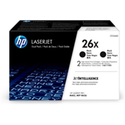 HP 26X 2-pack High Yield Black Original LaserJet CF226XD - 1362138