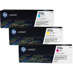 HP 312A 3-pack CYM Original LaserJet CF440AM - 1362135