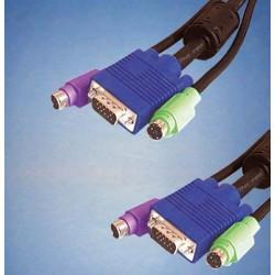Conjunto de Cabos para Data-Switch com 3mt