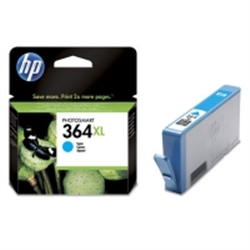 HP 364XL Cyan Ink Cartridge with Vivera Ink - 1701806
