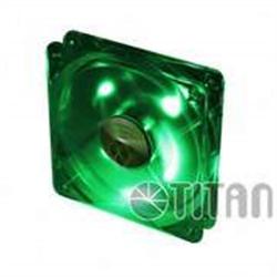 TITAN TFD-12025GT12Z/LD3/V2(RB) 120MM LED GREEN - 1640128