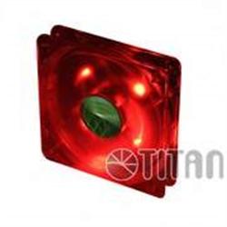TITAN TFD-12025GT12Z/LD4/V2(RB) 120MM LED RED - 1640129