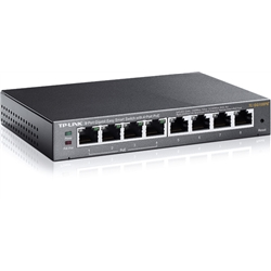 TP-LINK 8-Port Gigabit Desktop TL-SG108PE - 1330693