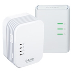 D-LINK PowerLine AV 500 Wireless N Mini Starter Kit - 1330451