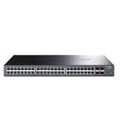 TP-LINK JetStream 48-Port Gigabit Smart Switch T1600G-52TS - 1330712