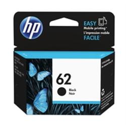 HP 62 Black Ink Cartridge  C2P04AE#ABE - 1701836