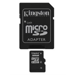 Kingston Micro SD card 32GB Classe 4 SDC4/32GB - 8000231