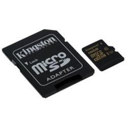 Kingston Micro SDHC 16GB Class U3 UHS-I 90R/45W SDCG/16GB - 8000230