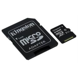 Kingston Micro SDHC 64GB Class 10 UHS-I 45MB/s  SDC10G2/64GB - 8000235