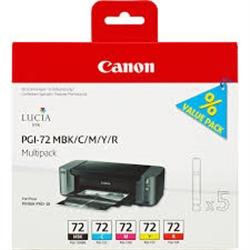 CANON PGI-72 MBK/C/M/Y/R MULTIPACK - 1701872
