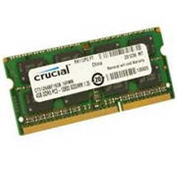 4096MB DDR3 1600MHz 1x204 SO-DIMM CL 11 CRUCIAL 1.35/1.5 16C - 2030035