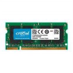 1024MB DDR 400 1x200 DIMM CL3 2.5V CRUCIAL - 2030038