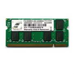 2048MB DDR2 800MHz 1x200 SO-DIMM CL5 1.8V GSKILL SQ SERIES - 2030052