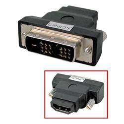 LINDY Adaptador HDMI F > DVI-D M - 1350315
