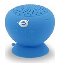 Conceptronic Wireless Waterproof Suction Speaker Blue - 1160410
