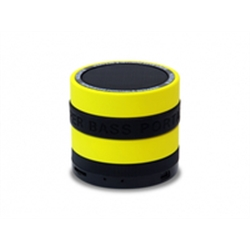 Conceptronic Wireless Bluetooth Super Bass Speaker Yellow - 1160416