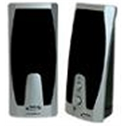 NGS Colunas 150W preto+cinza USB - 1160433