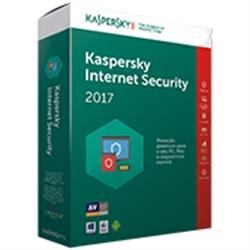 KASPERSKY INTERNET SECURITY 2017 MD 3 USER RETAIL - 3000074