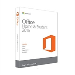 Microsoft Office Home and Student 2016 Win Inglês EuroZone - 3100027