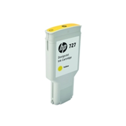 HP 727 300-ml Yellow DesignJet Ink Cartridge - F9J78A - 1701910