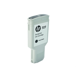 HP 727 300-ml Photo Black DesignJet Ink Cartridge - F9J79A - 1701909