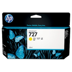 HP 727 130-ml Yellow Ink Cartridge - B3P21A - 1701902
