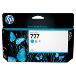 HP 727 130-ml Cyan Ink Cartridge - B3P19A - 1701899