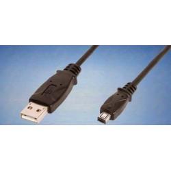 Cabo USB 2.0 Tipo A/Mini B 4P - 1.8mt