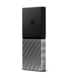 Western Digital MY PASSPORT SSD 256GB Silver - 8400179
