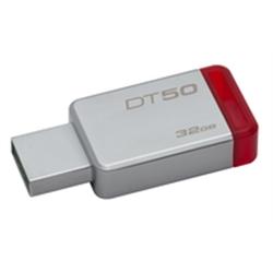 KINGSTON 32GB DataTraveler 50 USB 3.0 Metal/Red - 8200303