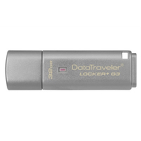 KINGSTON Pen Drive 32GB DataTraveler Locker+ G3 - 8200309