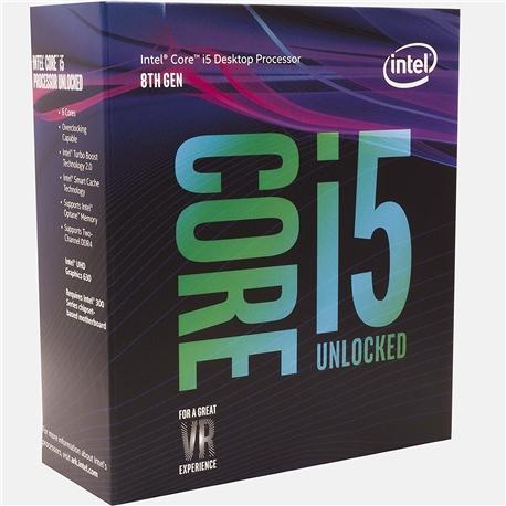 CPU intel® Core I5 8600K 3.6GHz 9MB LGA 1151 - 1010630