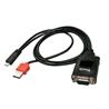 Adaptador Micro USB - Série DB9 RS-232 para dispositivos AND - 1350041