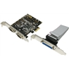 Controlador PCIe com 2 Portas RS232 e 1 Porta Paralela - 1060132