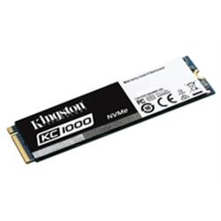 Kingston SSD 240GB KC1000 PCIe Gen3 x 4, NVMe - 1100985