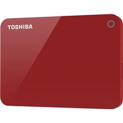 "Disco Externo Toshiba 2.5"" 2TB CANVIO ADVANCE Red - 8400189"