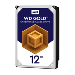 Western Digital HDD 12TB Datacentre Gold 256mb cache SATA - 1101189