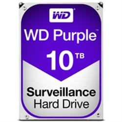Western Digital HDD 10TB AV PURPLE 256mb cache SATA 6gb/s - 1101191