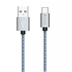 DEVIA - Cabo USB - Micro USB - Nylon - 1350072