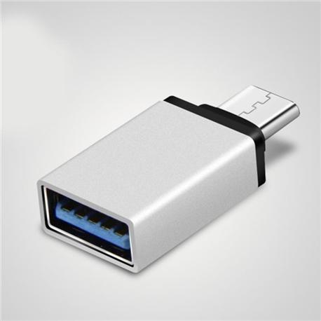 Adaptador/conversor USB-C macho - USB 3.0 A fêmea - 1350190
