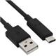 CABO USB C 3.1 M/TIPO A M P 1,8 M PRETO - 1350108