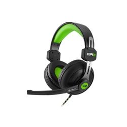 HEADSET GAMER STEREO C/MIC. SHARKOON RUSH ER2 - GREEN - 7200208