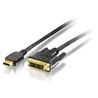 Cabo Adaptador HDMI para DVI 2m - 1350515