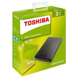 """TOSHIBA Basic Disco Ext 2.5"""" 3TB - Preto - 8400245"""